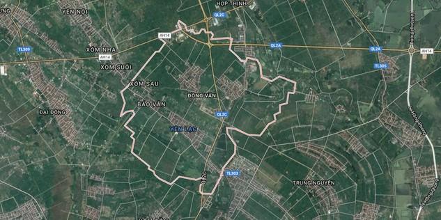 Lùm xùm đấu giá 9 ô đất tại Vĩnh Phúc