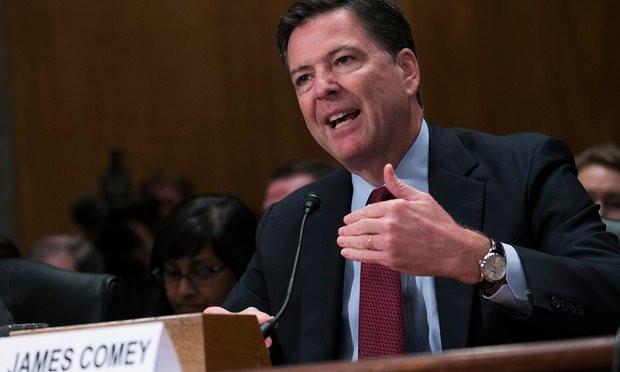 Giám đốc FBI James Comey. (Ảnh: EPA)