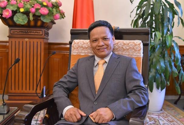 Đại sứ Nguyễn Hồng Thao. Ảnh BNG