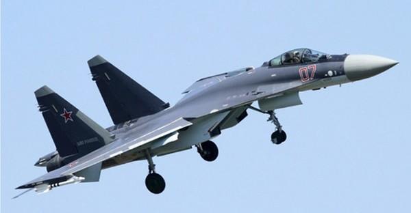 Tiêm kích đa năng Su-35 của Không quân Nga. Ảnh: National Interest.