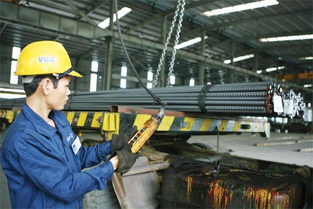 Sản xuất thép tiếp tục tăng trưởng khá