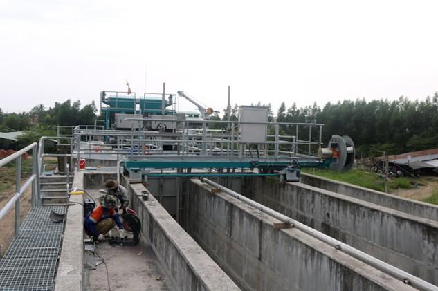 Cần Thơ: Nhà máy Xử lý nước thải 500 tỷ đồng tắc đầu ra