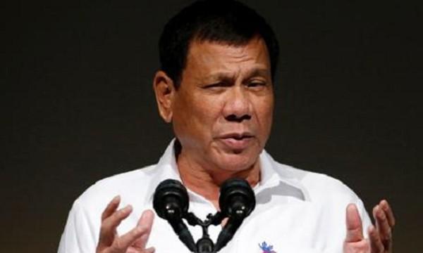 Tổng thống Philippines Rodrigo Duterte. Ảnh: Reuters