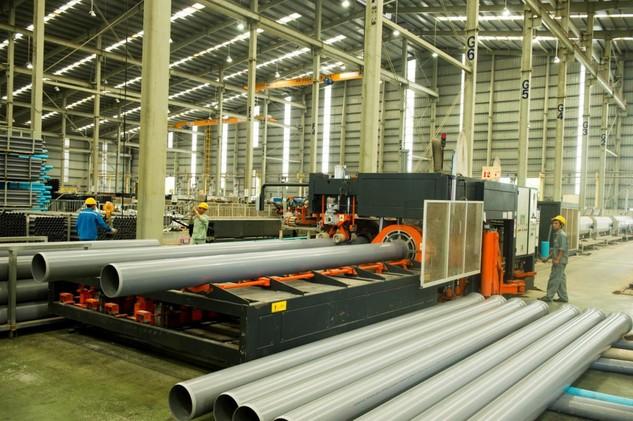 Nhiều nhà đầu tư nước ngoài quan tâm đến ngành nhựa xây dựng Việt Nam. Ảnh: Minh Tuấn