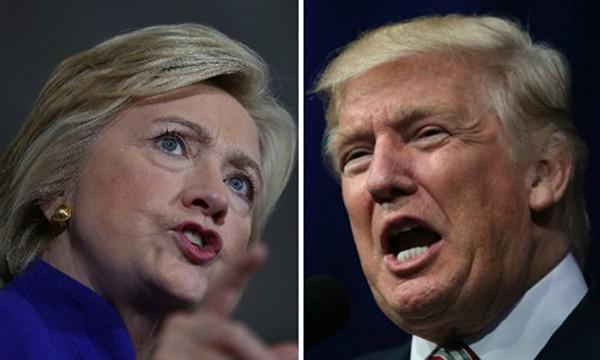 Donald Trump và Hillary Clinton. Ảnh: Breitbart
