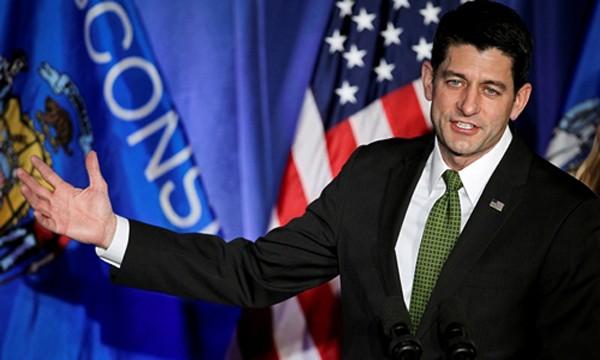 Chủ tịch Hạ viện Mỹ Paul Ryan. Ảnh:Reuters