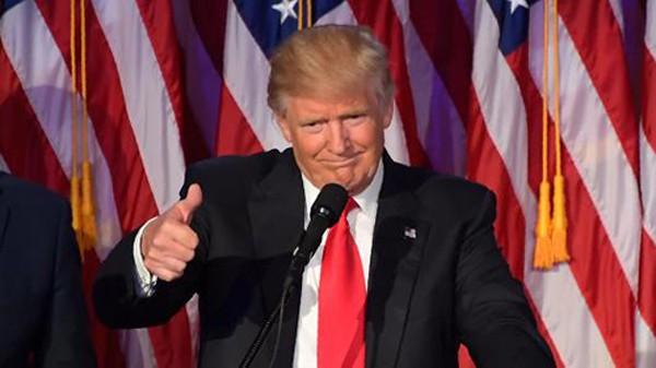 Tổng thống Mỹ mới đắc cử Donald Trump. Ảnh:AFP