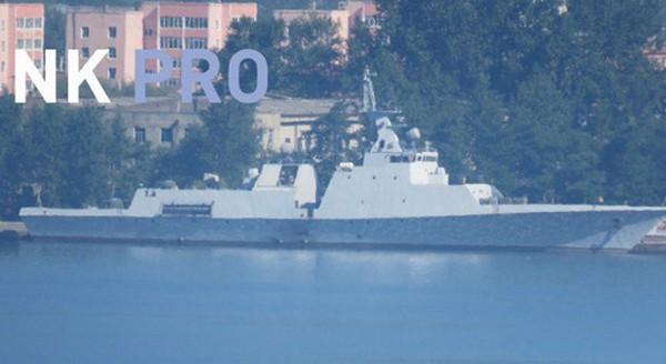 Triều Tiên dự kiến đóng 4 tàu hộ vệ tàng hình. Ảnh:NK Pro.