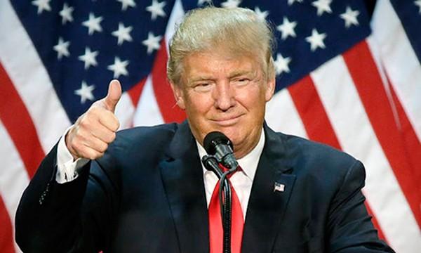 Tân tổng thống Mỹ Donald Trump. Ảnh:Telegraph