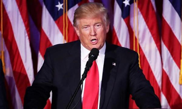 Tổng thống Mỹ mới đắc cử Donald Trump. Ảnh:NBC News