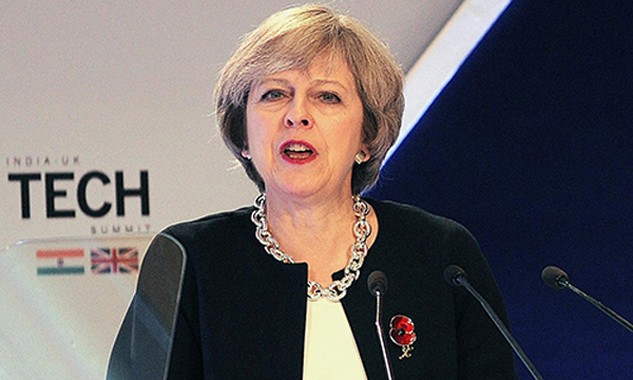 Thủ tướng Anh Theresa May. Ảnh: Independent