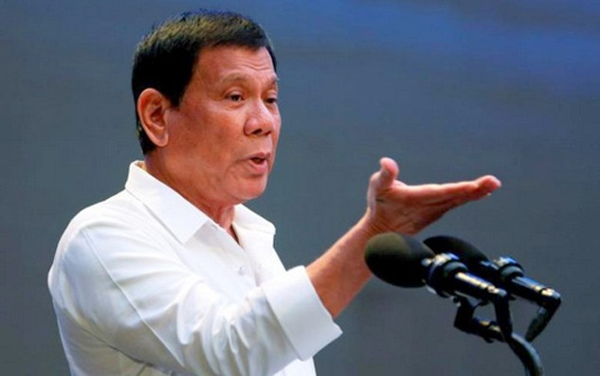 Ông Duterte đã thay đổi thái độ với Mỹ kể từ khi Trump đắc cử. Ảnh: Reuters.
