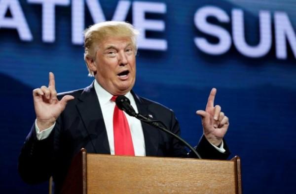 Tổng thống Mỹ mới đắc cử Donald Trump. Ảnh:Reuters