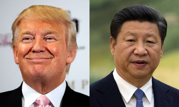 Tổng thống Mỹ đắc cử Donald Trump và Chủ tịch Trung Quốc Tập Cận Bình. Ảnh: WSJ