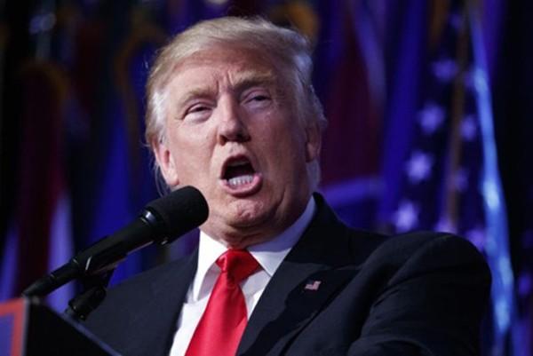Tổng thống Mỹ đắc cử Donald Trump. Ảnh:AP