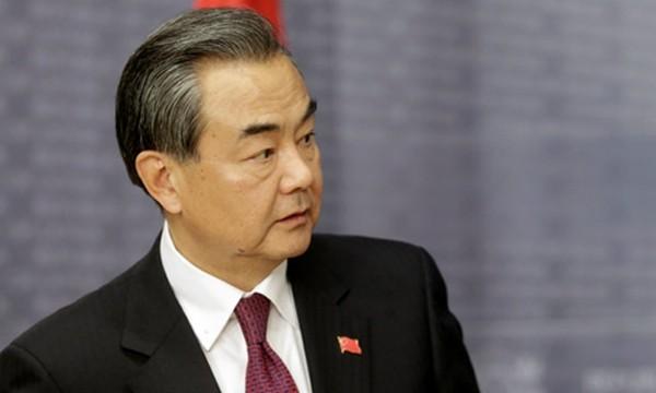 Ngoại trưởng Trung Quốc Vương Nghị. Ảnh:Reuters.