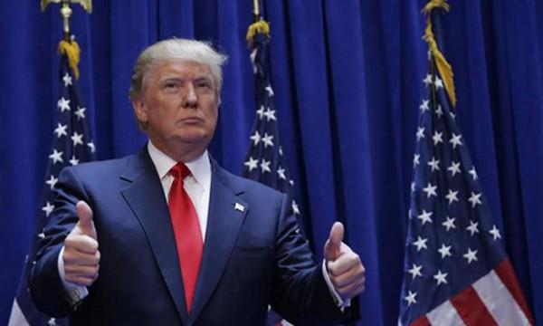 Ông Trump đắc cử sau khi giành thắng lợi ở một loạt bang chiến trường quan trọng. Ảnh:Reuters