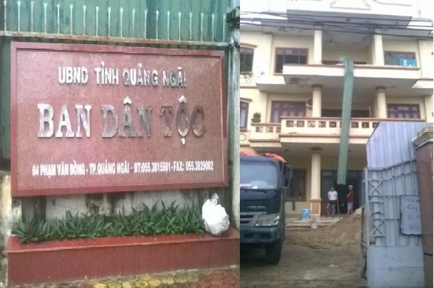 Phó Giám đốc Ban QLDA 33 cho biết, việc thông báo mời thầu 4 gói thầu với địa điểm phát hành HSMT tại số 64 Phạm Văn Đồng, TP. Quảng Ngãi là sai sót (Ảnh nhà thầu cung cấp)