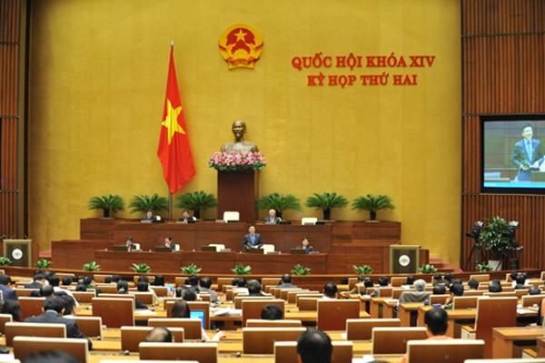 Kỳ họp thứ 2 Quốc hội khóa 14 dành 2,5 ngày cho hoạt động chất vấn. Ảnh: Giang Huy.