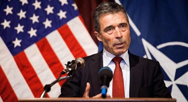 Cựu tổng thư ký NATO Anders Fogh Rasmussen. Ảnh: Flickr.
