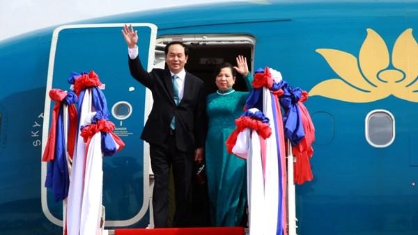 Chủ tịch nước Trần Đại Quang và Phu nhân sẽ thăm Cộng hòa Cuba từ ngày 15 - 17/11/2016. Ảnh: Thế giới và Việt Nam