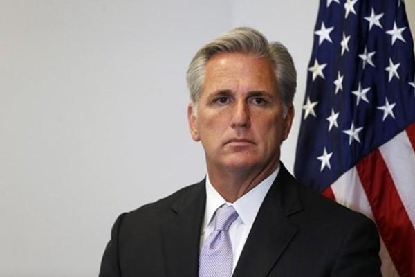 Lãnh đạo phe đa số Hạ viện Kevin McCarthy. Ảnh:Reuters.
