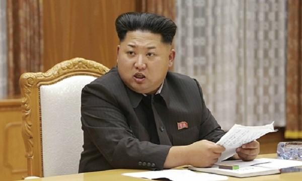 Nhà lãnh đạo Triều Tiên Kim Jong-un. Ảnh:KCNA.