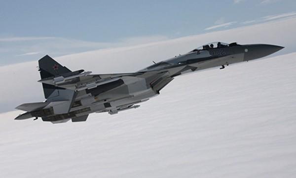 Tiêm kích Su-35 Nga. Ảnh:Sputnik.