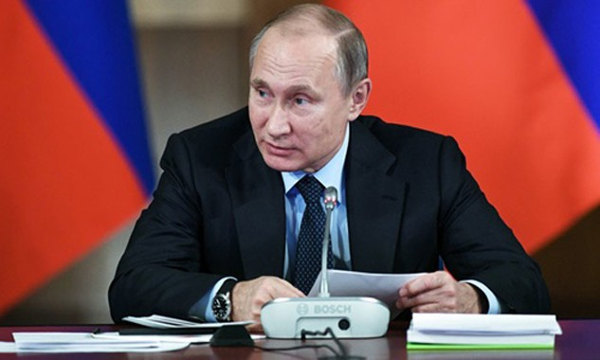 Tổng thống Nga Vladimir Putin. Ảnh: Spunik