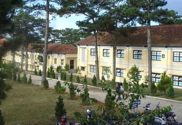 Tổng giá trị 3 gói thầu Trường Đại học Đà Lạt mời thầu mà Công ty CP Phát triển Nhà.LĐ trúng là khoảng 11 tỷ đồng. Ảnh:Quang Đức
