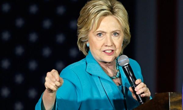 Bà Hillary Clinton. Ảnh:AP.