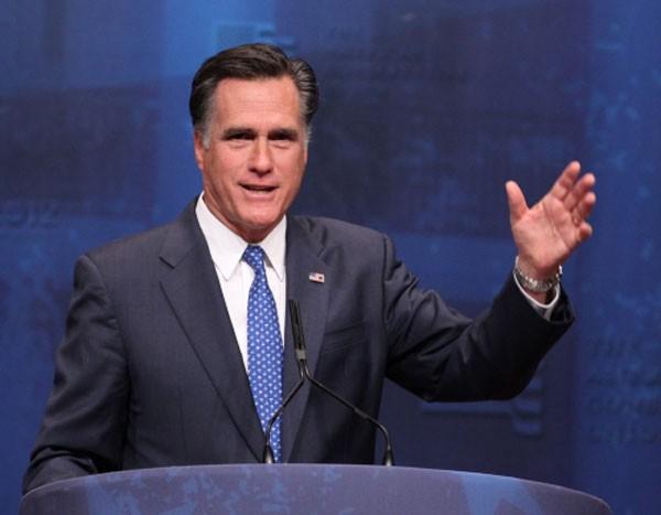 Ông Mitt Romney, cựu thống đốc bang Massachusetts, ứng viên tổng thống đảng Cộng hoà năm 2012. Ảnh:Wikipedia