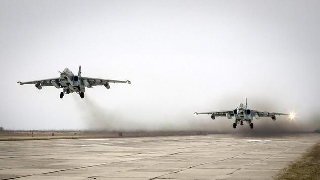Máy bay nga hoạt động tại Syria (Ảnh minh họa: Reuters)