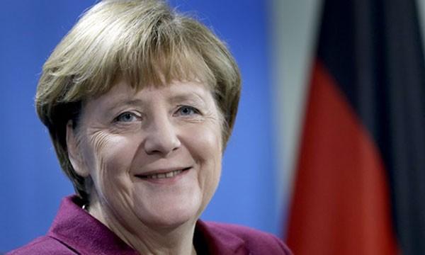 Thủ tướng Đức Angela Merkel. Ảnh:AP