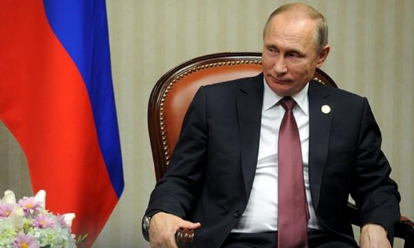 Tổng thống Nga Vladimir Putin. Ảnh:Reuters.