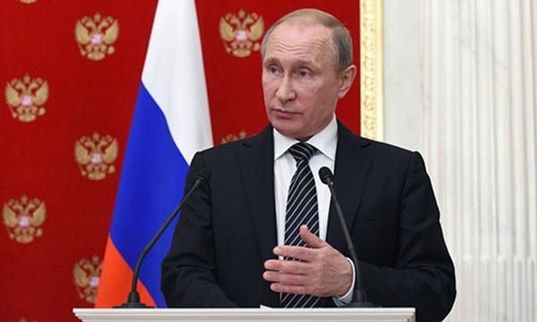 Tổng thống Nga Putin. Ảnh:NYT