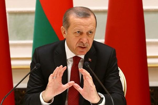 Tổng thống Thổ Nhĩ Kỳ Recep Tayyip Erdogan. Ảnh:Reuters