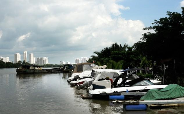 TP.HCM có kế hoạch cải tạo và xây 50 bến đỗ, cầu tàu, nhà chờ… để phục vụ du lịch đường sông. Ảnh: Đinh Tuấn