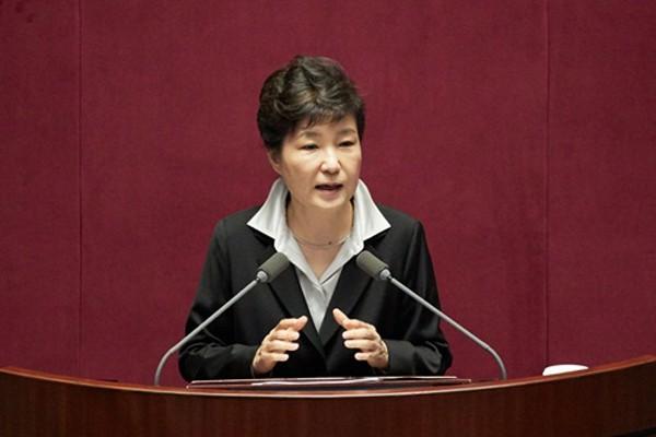 Tổng thống Hàn Quốc Park Geun-hye. Ảnh:businesskorea