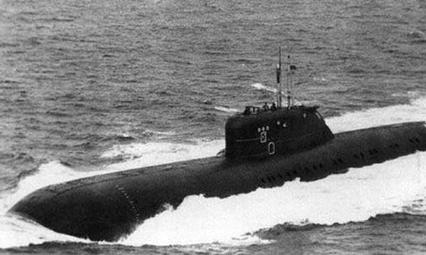 Một tàu ngầm lớp Charlie của Liên Xô. Ảnh:History