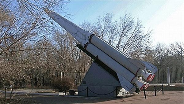Một bệ phóng tên lửa chống tên lửa đạn đạo trong hệ thống A-35. Ảnh:Russian Internet.