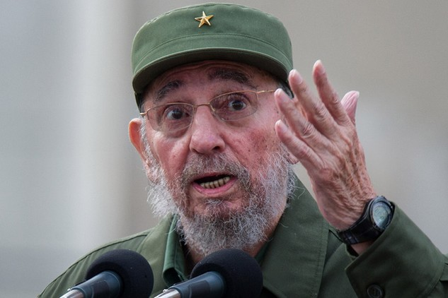 Cựu Chủ tịch Cuba Fidel Castro (Ảnh: AFP)