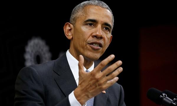 Tổng thống Mỹ Barack Obama. Ảnh:Reuters.