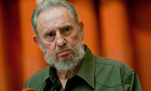 Cựu chủ tịch Cuba Fidel Castro. Ảnh:AP