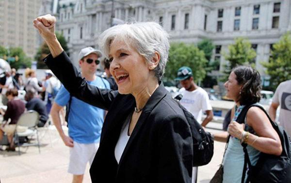 Bà Jill Stein. Ảnh: Reuters