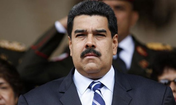 Tổng thống Venezuela Nicolas Maduro. Ảnh:Reuters