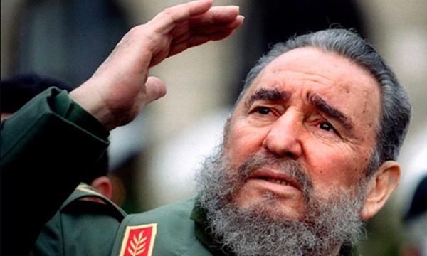 Cựu chủ tịch Cuba Fidel Castro. Ảnh:CNN.