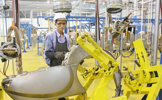 Những nỗ lực cải thiện môi trường đầu tư đã góp phần giúp lượng vốn FDI vào Việt Nam tăng ổn định. Ảnh: Tường Lâm