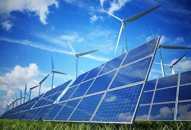 Tỷ lệ điện sản xuất từ năng lượng tái tạo sẽ chiếm khoảng 7% vào năm 2020 và chiếm 10% vào năm 2030. Ảnh: Tường Lâm