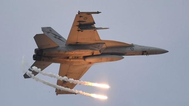 Một máy bay chiến đấu CF-18 Hornet (Ảnh: Getty)